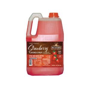 משקה טעים - סירופ בטעם תות שדה